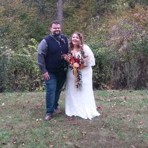 Plus size torrid wedding dress